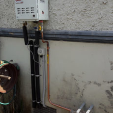 Rheem 27 NG Installation, Kitchen And Shower Fitoff